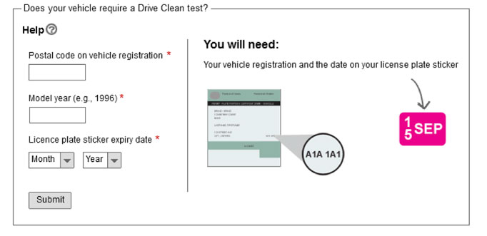 Wireframe for Drive Clean require a test widget